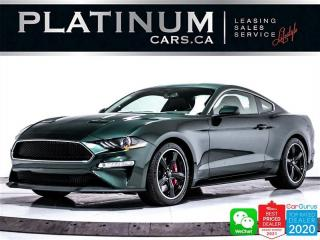 Used 2020 Ford Mustang BULLITT, V8, 480HP, MANUAL, CAM, HEATED, NAV, BT for sale in Toronto, ON
