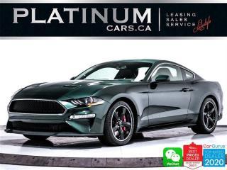 Used 2020 Ford Mustang BULLITT, V8, 480HP, MANUAL, CAM, HEATED, NAV, BT for sale in Toronto, ON