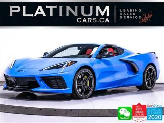 Used 2020 Chevrolet Corvette Stingray Z51, 2LT, 495HP, PDR, NAV, HUD, CAM, BT for sale in Toronto, ON