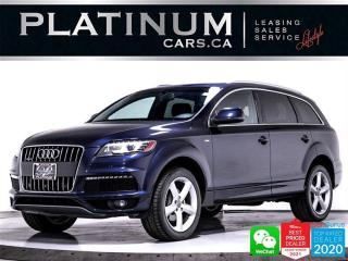 Used 2015 Audi Q7 3.0 TDI quattro Vorsprung Edition, S-LINE, NAV,CAM for sale in Toronto, ON