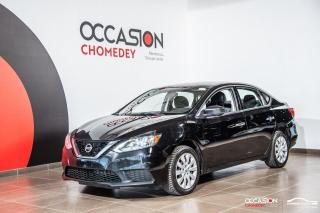 Used 2017 Nissan Sentra SV+CAMERA DE RECUL+SIEGES CHAUFFANTS+REG DE VITESS for sale in Laval, QC