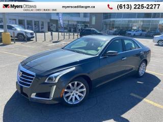 Used 2015 Cadillac CTS Luxury  LUXURY, AWD, 3.6 V6, SUNROOF, NAV, WIRELESS CHARGING for sale in Ottawa, ON