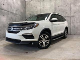 Used 2016 Honda Pilot EX-L AWD CUIR TOIT 8 PASSAGERS DVD for sale in St-Nicolas, QC