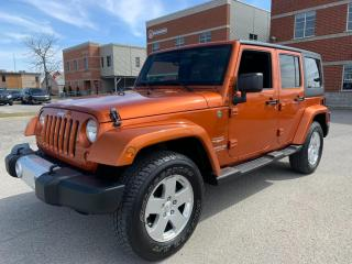 Used 2011 Jeep Wrangler Sahara Unlimited for sale in Laval, QC