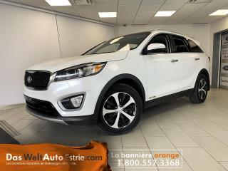 Used 2017 Kia Sorento AWD EX, 7 places, Cuir, Automatique for sale in Sherbrooke, QC