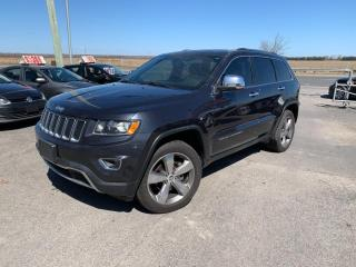 Used 2014 Jeep Grand Cherokee Limitée automatique toit ouvrant,cuir,navigation for sale in Carignan, QC