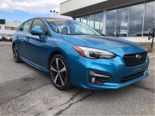 Used 2017 Subaru Impreza 5dr HB CVT Sport-tech w-Tech,cuir,toit,gps for sale in Lévis, QC