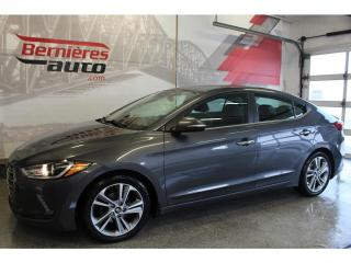 Used 2017 Hyundai Elantra Limited for sale in Lévis, QC