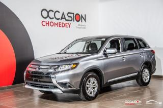 Used 2017 Mitsubishi Outlander ES AWD+CAMERA DE RECUL+BLUETHOOTH for sale in Laval, QC