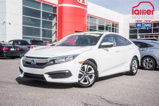 Used 2018 Honda Civic GARANTIE LALLIER 10ANS/200,000 KILOMETRES INCLUSE* LE PLUS GRAND CHOIX DE CIVIC USAGEES AU QUEBEC for sale in Terrebonne, QC