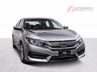 Used 2018 Honda Civic LX Auto A/C Caméra Sièges Chauffants Android Auto for sale in St-Hubert, QC