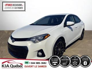 Used 2016 Toyota Corolla ** S *MAGS * AC * TOIT *CRUISE *BLUETOOT for sale in Québec, QC
