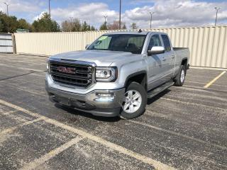 Used 2018 GMC Sierra 1500 SLE DBLE CAB 4WD for sale in Cayuga, ON