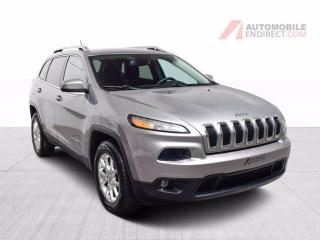 Used 2015 Jeep Cherokee NORTH 4X4 V6 MAGS GPS CAMERA DE RECUL for sale in St-Hubert, QC