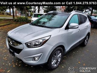 Used 2015 Hyundai Tucson GLS AWD at for sale in Courtenay, BC