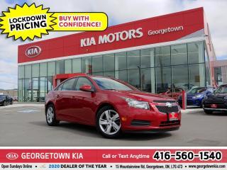 Used 2014 Chevrolet Cruze DIESEL| LTHR | BU CAM | SUNROOF | BT | ALLOYS |72K for sale in Georgetown, ON