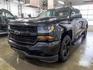 Used 2018 Chevrolet Silverado 1500 CUSTOM 4X4 CAMÉRA BLUETOOTH *GR. REMORQUAGE* for sale in St-Jérôme, QC