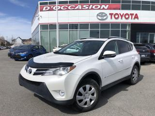 Used 2014 Toyota RAV4 LIMITED AWD **CUIR/TOIT/GPS** for sale in St-Eustache, QC