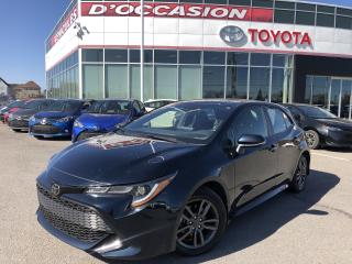 Used 2019 Toyota Corolla Hatchback SE **AUTO/MAGS/CAMERA** 37 178KM* for sale in St-Eustache, QC