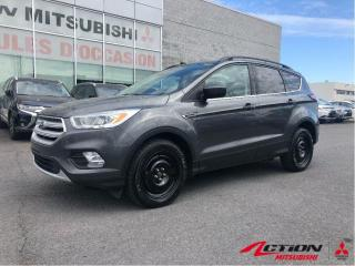 Used 2018 Ford Escape SEL 4WD+MAGS 17+CAMÉRA+BLUETOOTH+CUIR+A/C+8 PNEUS for sale in St-Hubert, QC