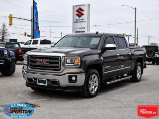 Used 2014 GMC Sierra 1500 SLT Crew Cab 4x4 ~Nav ~Camera ~Moonroof ~Leather for sale in Barrie, ON