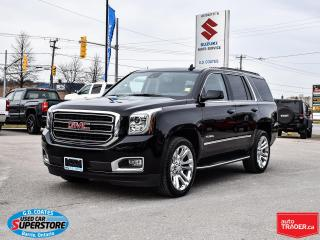 Used 2020 GMC Yukon SLT 4x4 ~8-Passenger ~Heated/Cooled Leather ~22's for sale in Barrie, ON