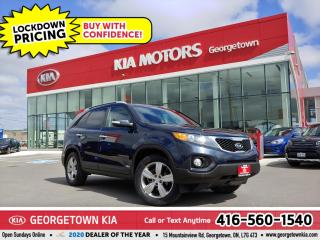 Used 2013 Kia Sorento EX | AWD | LTHR | B/T | HTD SEATS | ALLOYS | 80K for sale in Georgetown, ON