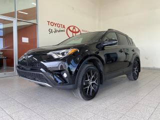 Used 2018 Toyota RAV4 * AWD * SE * TOIT OUVRANT * MAGS * 46 400 KMS * for sale in Mirabel, QC