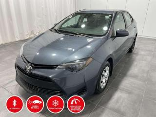 Used 2018 Toyota Corolla CE -  GROUPE CLIMATISEUR for sale in Québec, QC