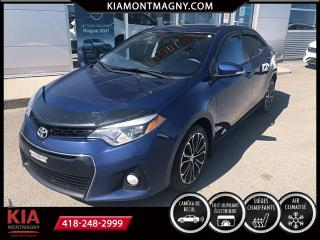 Used 2015 Toyota Corolla Berline 4 portes, boîte manuelle, S for sale in Montmagny, QC