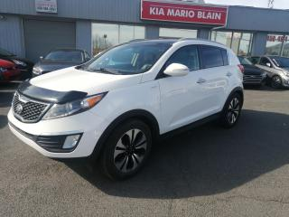 Used 2013 Kia Sportage AWD 4dr SX for sale in Mcmasterville, QC