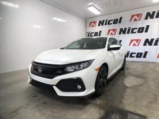 Used 2018 Honda Civic SPORT TRÈS FAIBLE KILOMÉTRAGE! for sale in La Sarre, QC