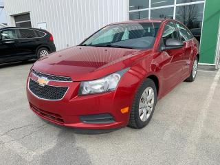Used 2012 Chevrolet Cruze LT Turbo w/1SA (Frais VIP 395$ non inclus) VEHICULE EN PREPARATION for sale in Rouyn-Noranda, QC