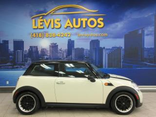 Used 2013 MINI Cooper Hardtop COUPE MANUEL 6 VITESSES TOIT PANO / CUIR for sale in Lévis, QC
