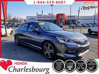 Used 2017 Honda Accord SPORT**AUCUN ACCIDENT**UN PROPRIÉTAIRE** for sale in Charlesbourg, QC