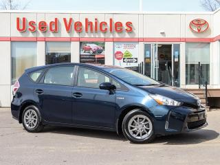 Used 2017 Toyota Prius V V YES WE ARE OPEN!!! LOW-KM 1-OWNER CERTIFIED! for sale in North York, ON