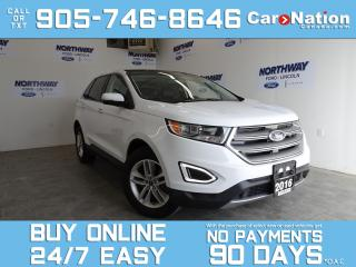 Used 2016 Ford Edge SEL | AWD | PANO ROOF | LEATHER | NAV | 1 OWNER for sale in Brantford, ON