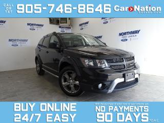 Used 2016 Dodge Journey CROSSROAD |AWD| DVD | LEATHER | ROOF | NAV| 7 PASS for sale in Brantford, ON