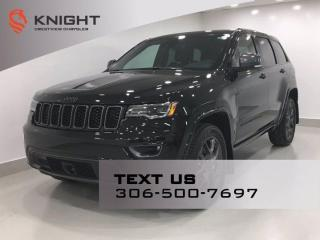 New 2021 Jeep Grand Cherokee 80th Anniversary Edition | Leather | Sunroof | Navigation | for sale in Regina, SK