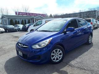 Used 2012 Hyundai Accent GLS for sale in Oshawa, ON