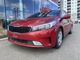 Used 2017 Kia Forte *LX*CAMERA*BLUETOOTH*SIEGES CHAUFF*A/C* for sale in Québec, QC