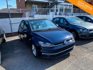 Used 2018 Volkswagen Golf RÉSERVÉ Comfortline 1.8 TSI + TRÈS BAS KILO + Toit for sale in Québec, QC