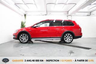 Used 2017 Volkswagen Golf Alltrack DSG 4MOTION 1.8 TSI Wgn + Toit + GPS + Caméra for sale in Québec, QC