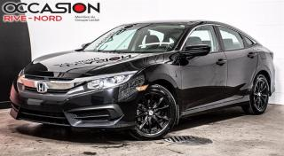 Used 2016 Honda Civic LX MAGS+SIEGES.CHAUFFANTS+BLUETOOTH for sale in Boisbriand, QC