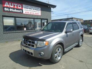 Used 2008 Ford Escape LIMITED**4WD**QUEL AUBAINE** for sale in St-Hubert, QC