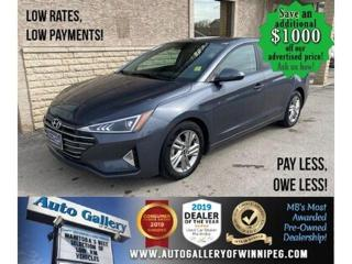 Used 2019 Hyundai Elantra Preferred* Heated Seats/Bluetooth/REVERSE CAMERA for sale in Winnipeg, MB