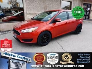 Used 2018 Ford Focus SE* Bluetooth/Reverse Camera/SATELLITE RADIO for sale in Winnipeg, MB