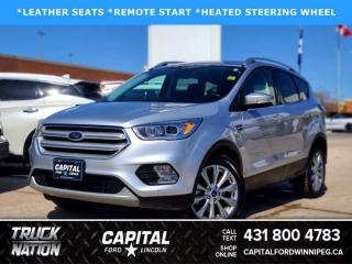 Used 2018 Ford Escape Titanium 4WD for sale in Winnipeg, MB