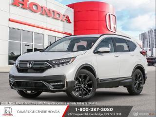 New 2021 Honda CR-V Black Edition POWER SUNROOF | APPLE CARPLAY™ & ANDROID AUTO™ | HONDA SENSING TECHNOLOGIES for sale in Cambridge, ON