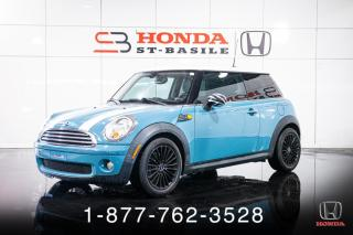 Used 2008 MINI Cooper Hardtop CLASSIC + COUPE + MANUEL + MAGS + WOW! for sale in St-Basile-le-Grand, QC